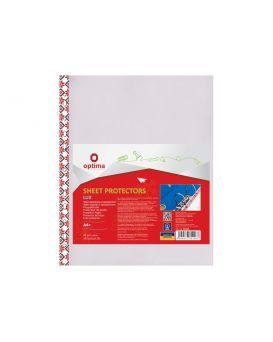 Файл А4 с цветным орнаментом, глянцевая фактура, 40 мкм, 100 шт. в уп.