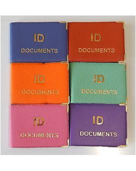 ID Documents металл золотое теснение 192х67