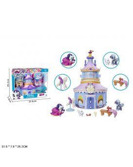 Герои мультфильма «My Little Pony» с аксессуарами, здание, в коробке 31,5х7,8х25,2 см