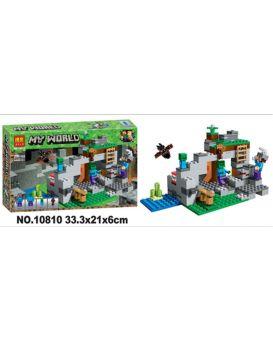 Конструктор 10809, 204 деталей, в коробке 29х20х6 см