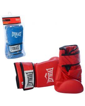 Боксерские перчатки MS 1947 W, 2шт,, на липучке,в ассортименте ,в кульке,