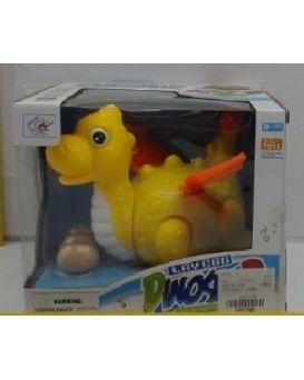 Динозаврик на батарейке, несет яйца, в коробке 22х18х18 см