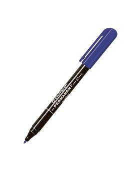 Маркер 1 мм перманентный, круглый, фиолетовый, тонкий, 10, Centropen