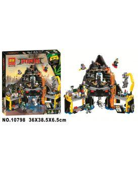Конструктор Bela «Ninja» 554 деталей, в коробке 36х38,5х6,5 см