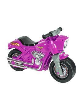 Толокар «Мотобайк» 2-х колесный, розовый, ТМ Орион