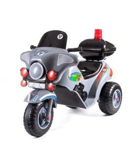 Мотоцикл с электроприводом 6V/4А, 105х42х62 см, черный, ТМ Орион