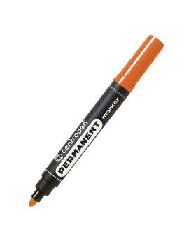 Маркер 2,5 мм перманентный, круглый, оранжевый Centropen