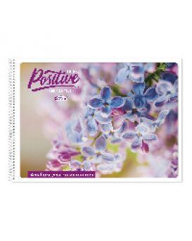 Альбом для рисования 30 листов, на спирали, Gold Brisk