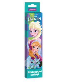 Карандаши 6 цветов «Frozen»