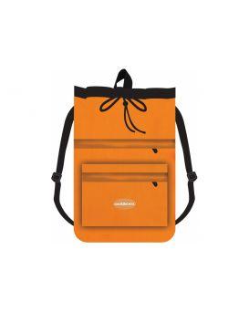 Сумка для обуви антивор с 2 молниями с расширением, оранжевая, CFS