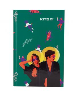 Записная книжка А6, 80 л., в клетку, твердая обл., ТМ Kite