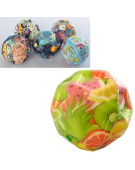 Мяч детский MS 2494 6,3 см, ПУ,в ассортименте, упаковка 12шт в кульке
