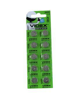 Батарейка Videx AG 13/10 BL