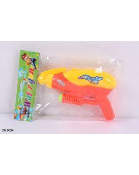 Пистолет водный 26 см, в пакете