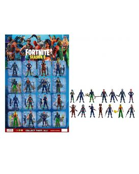Герои мультфильма «Fortnite. Season 8» 16 шт. на планшетке