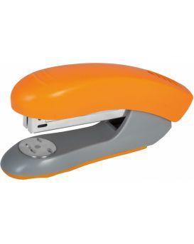 Степлер пластиковый до 30 л., скоба № 24/6, №26/6, оранжевый, ТМ Economix