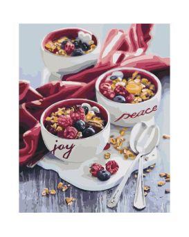 Набор для росписи по номерам «Сладкий привкус утра» 40 х 50 см