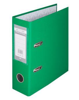 Папка - регистратор А5 односторонняя, сборная, 70 мм, PP, зеленая.