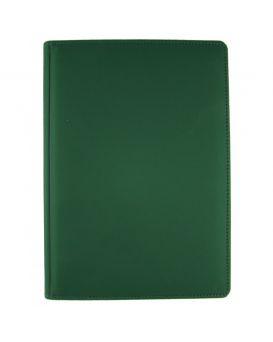 Ежедневник недатированный 176 л., 142 х 203 «Vienna» зеленый, закругленные углы
