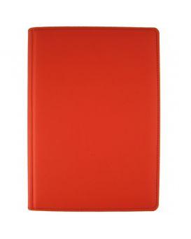 Ежедневник недатированный 176 л., 142 х 203 «Vienna» красный, закругленные углы