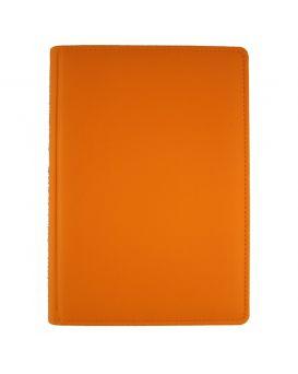 Ежедневник недатированный 176 л., 142 х 203 «Vienna» оранжевый, закругленные углы