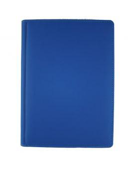 Ежедневник недатированный 176 л., 142 х 203 «Vienna» синий, закругленные углы