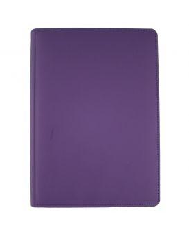 Ежедневник недатированный 176 л., 142 х 203 «Vienna» фиолетовый, закругленные углы