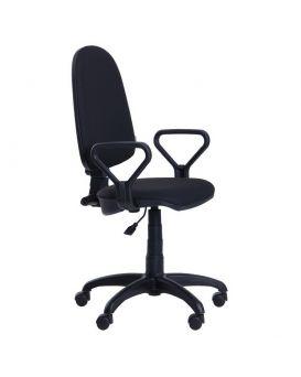 Кресло поворотное «Престиж Люкс» А-1 цвет - черный, Арт-Пром
