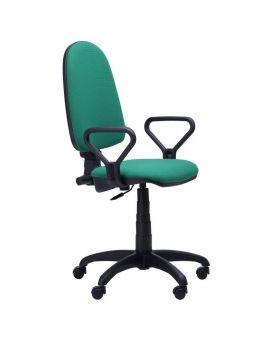 Кресло поворотное «Престиж Люкс» А-36 цвет - зеленый, Арт-Пром