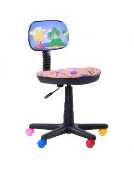 Кресло детское поворотное «Бамбо Пони» цвет - розовый, Арт-Пром