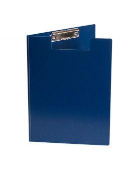 Папка - планшет А5 с зажимом, синяя