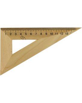 Треугольник деревянный 16 см, 30°х60°