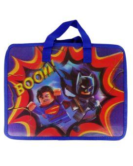 Папка - портфель, детская, 3D «Супергерои» 33х26,5х8,5 см, А