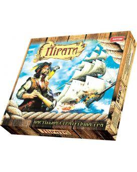 Игра настольная «Пираты» премиум в цельной еврокоробке, крышка + дно.