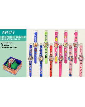 Детске наручные часы, в ассортименте, в коробке 8х8х5 см