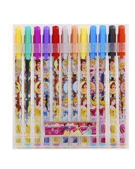 Набор гелевых ручек 12 цветов PVC «PRL» J. Otten