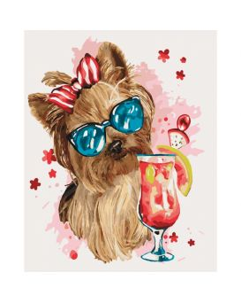 Набор для росписи по номерам «Cool party» 40 х 50 см