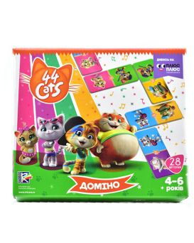 Домино «44 Cats» 28 деталей, ТМ Vlady Toys