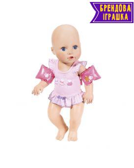Интерактивная кукла «Научи меня плавать» 43 см, из аксессуарами, плавает в воде, Baby Annabell