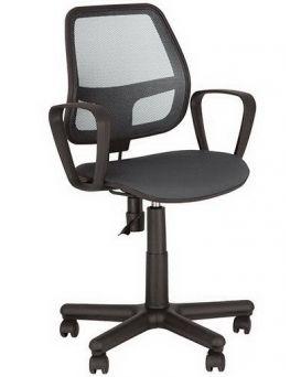Кресло поворотное «Alfa» цвет - черный, Новый Стиль