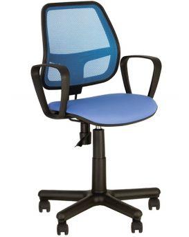 Кресло поворотное «Alfa» цвет - синий, Новый Стиль