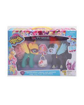 Герои мультфильма «My Little Horse» 15 см с сумочкой, в коробке 38х25х7 см