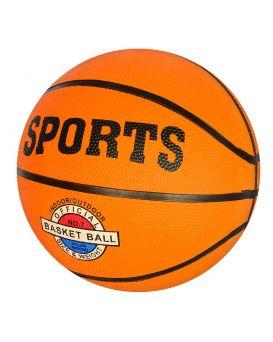 Мяч баскетбольный размер 7, резина, 12 панелей, 500х520 гр, в пакете