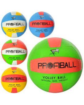Мяч волейбольный «Official» официальный размер, резиновый, 260х300 гр, в ассортименте
