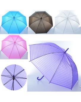 Зонтик детский длина 76 см, трость 67 см, диаметр 64 см, спица 53 см, в ассортименте, в пакете