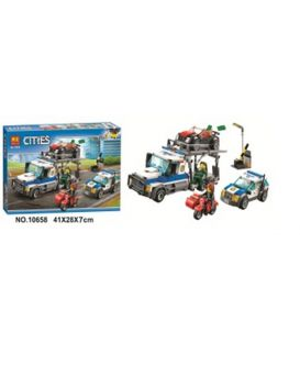 Конструктор 10658 в коробке 41х28х7 см