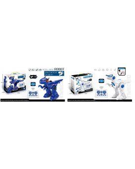 Робот «Динозавр» на радиоуправлении, на бат., звук, в ассортименте, в кор. 35,5х28,5х13,8 см