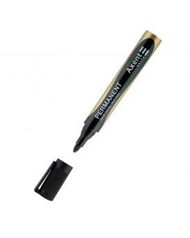 Маркер пермонентний, круглый 2 мм, черный