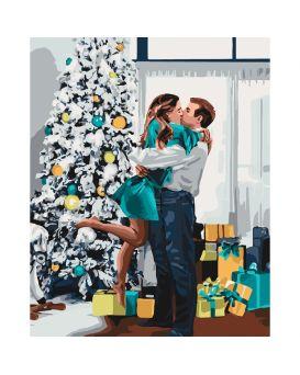 Набор для росписи по номерам «Новогоднее настроение» 40 х 50 см