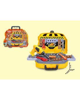 Набор инструментов 26 элементов, в чемодане 40,6х28,4х26,6 см